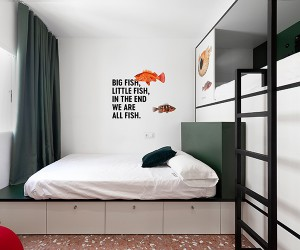 2060 Hostel and Market, Madrid, Spain