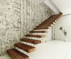 21 Unique Contemporary Staircases with a Flair for the Dramatic