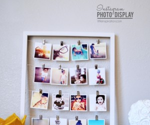 22 DIY Photo Displays For Every Corner of the House