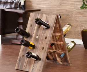 24-Bottle Riddling Rack Wine Holder