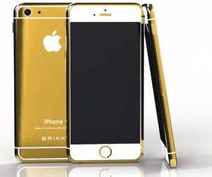 24-karat-gold iPhone 6 by Brikk