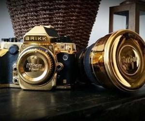 24K Gold Lux Nikon DF by Brikk
