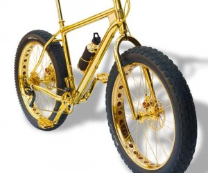 24K Gold Mountain Bike on Sale for $1 Million