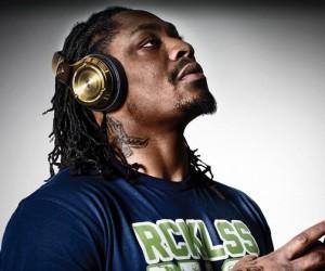 24K Gold Over Ear Monster DJ Headphones