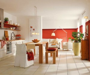 25 Beautiful Red Interiors