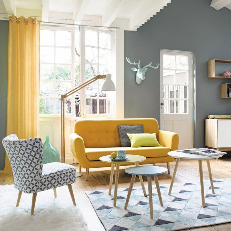 25 gorgeous yellow interior design ideas for Scandinavian style wohnen