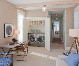 25 Space-Saving Multipurpose Laundry Rooms
