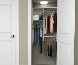 3 Design Ideas for 3-Foot Closets