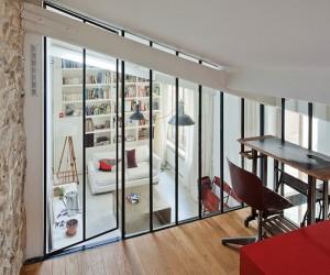 3 Story Paris Loft Apartment