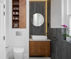 3 Styles to Give the Tiny Powder Room a Spacious Look: 30 Fab Ideas