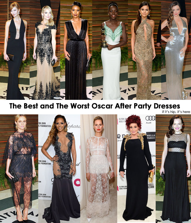 30 Best 10 Worst Oscar After Party Gowns