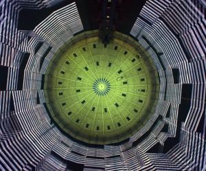 320 Licht installation by URBANSCREEN