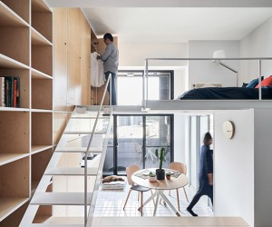 33 SQM Guest House in Taipei by Phoebe SaysWow Architects