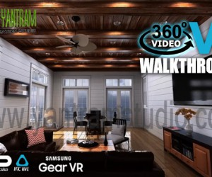 360 Degree 3D Walkthrough Animation By Yantram Development- Miami, USA