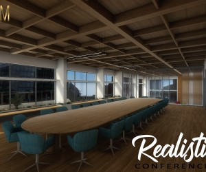 360-degree Realistic VR Conference Room of Virtual Reality Companies by real estate vr app, Liverpool  UK