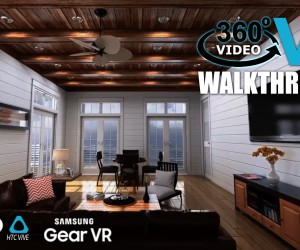 360 Degree VR Interactive Animation Video by Yantram Studio - New York