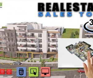 360 Virtual Interactive Real Estate Sales Tool By Yantram virtual reality developer, Berlin  Germany