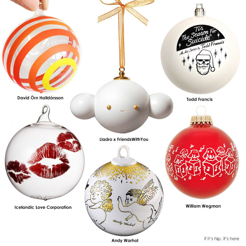 Artist Christmas Ornaments.37 Limited Edition Artist Christmas Ornaments