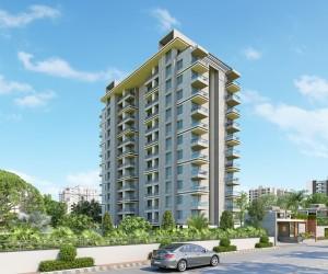 3D Architecture Maniratnam Heights Building