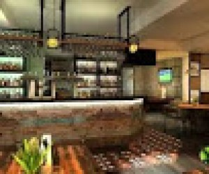 3D Bar Interior Design and Architectural Animation