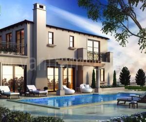 3D Exterior Pool View