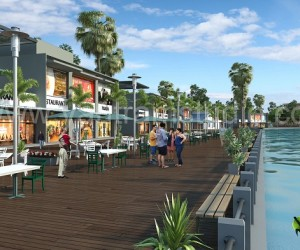 3D Exterior Rendering Restaurant Design