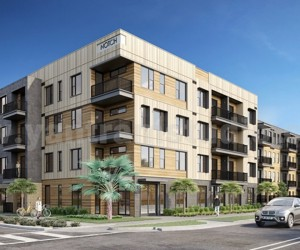 3D Exterior Rendering Services for Community Apartment by Yantram Architectural Studio, Los Angeles - USA