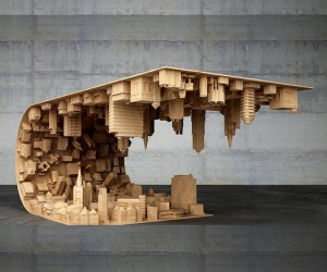 3D Printed Coffee Table Inspired by Inception