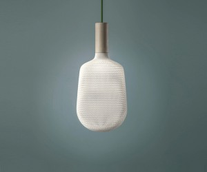 3D Printing Afillia Lamps by Alessandro Zambelli