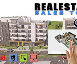 Virtual Reality 3D Real Estate Interactive Touch Screen Tool by Yantram Studio - San Diego