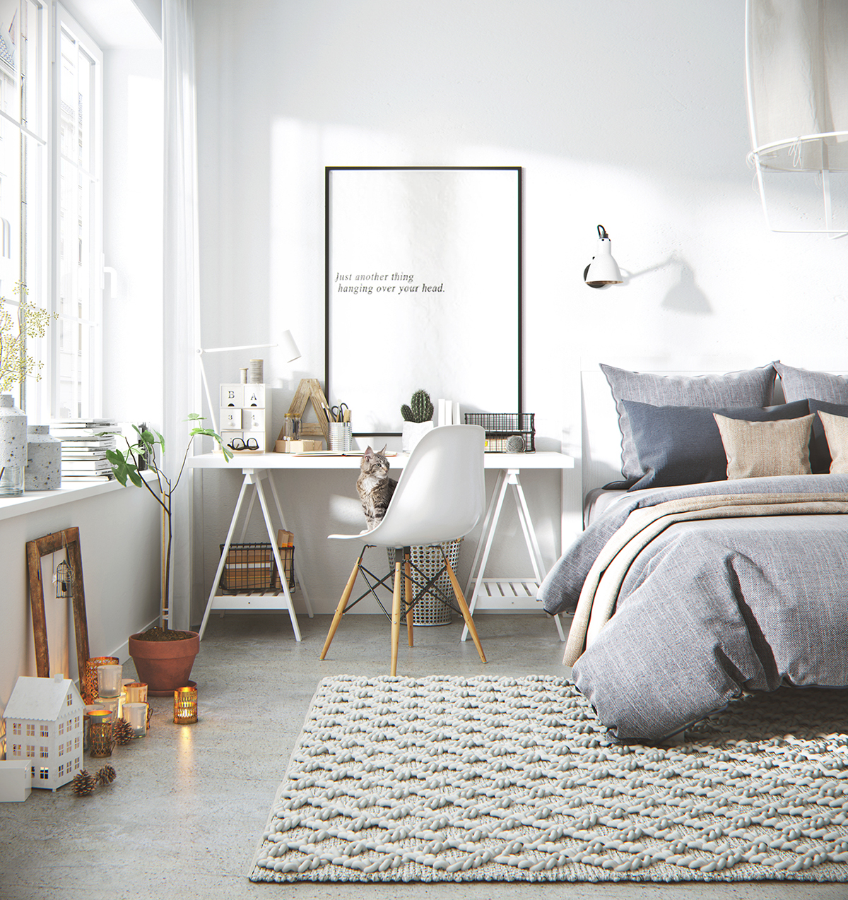 3D Scandinavian Design By ATng