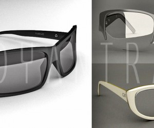 3D Sun Glass Modeling Animations