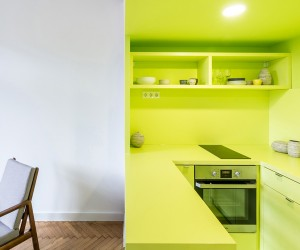 3in1 Apartment in Budapest by Batlab Architects