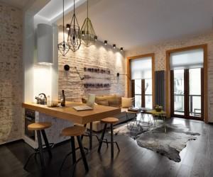 40 sqm apartment in Kiev by Elena Fateeva