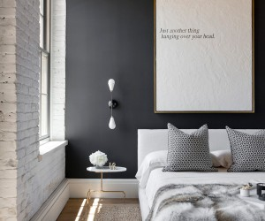 41 Sensational Interiors Showcasing Black Painted Walls