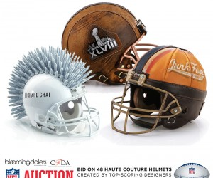 48 Haute Couture Helmets Benefit Charity