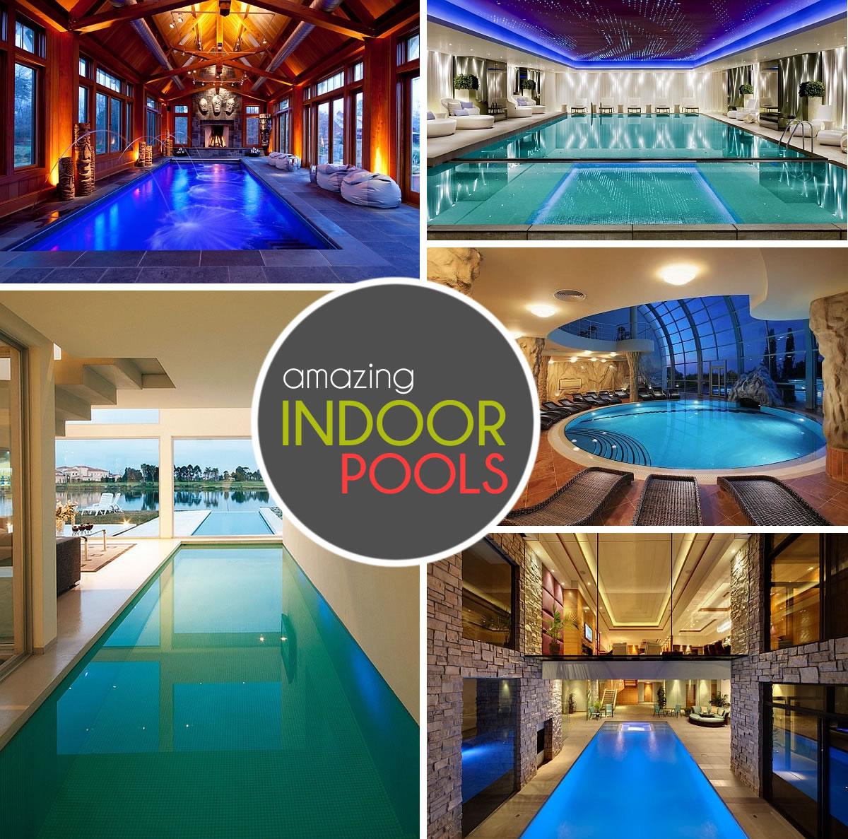 50 Amazing Indoor Swimming Pool Ideas