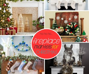 50 Festive Mantel Decorating Ideas For A Christmas