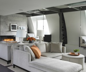 50 Shades of Gray | Modern Penthouse Design That Goes Next Level