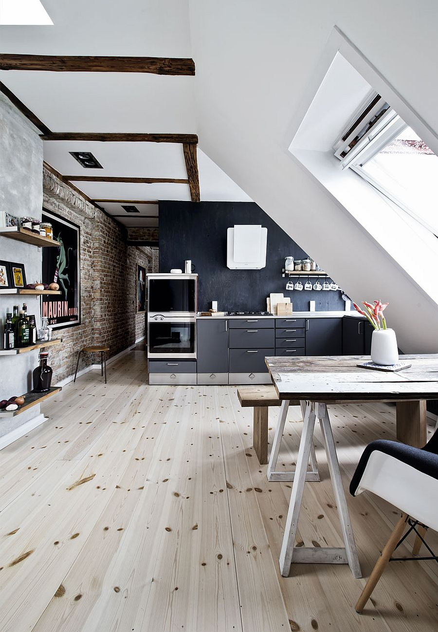 Decorating Small Open Floor Plan Living Room And Kitchen: 50 Tiny Apartment Kitchens That Excel At Maximizing Small