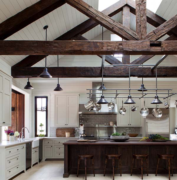 Farm Style Kitchen: 50 Ultimate Farmhouse Style Kitchens For Cooking And