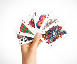 55 designers create one amazing deck of cards.