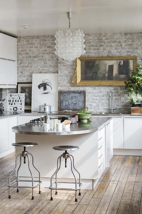 55 most cool kitchen designs on 1 kindesign for 2015 for Salle a manger quartz