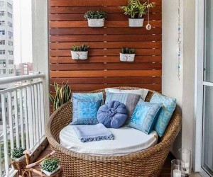 55 Super Cool and Breezy Small Balcony Design Ideas