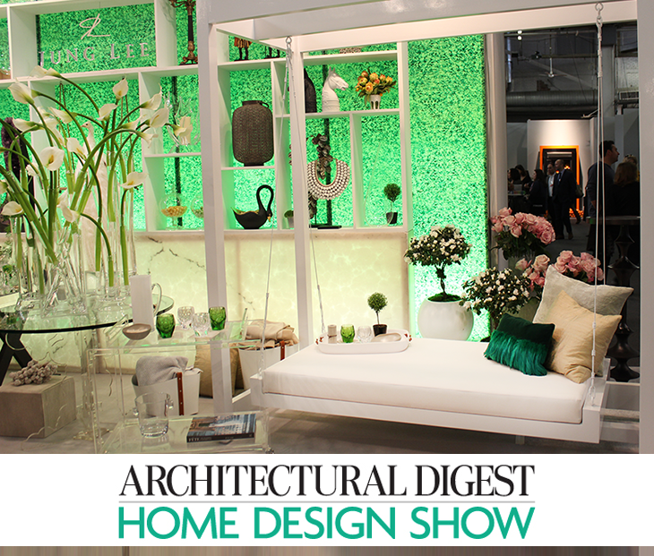 6 hot interior design trends spotted at the 2015 for Architectural digest home plans