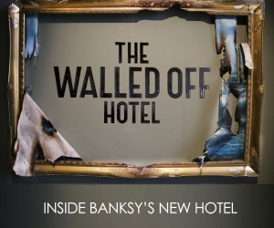 60 Photos of Banksys New Art Hotel, Walled Off