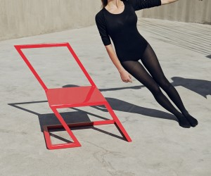 60 Tilting Furniture Series by XYZ Integrated Architecture