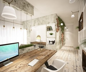 65 square meters vintage apartment