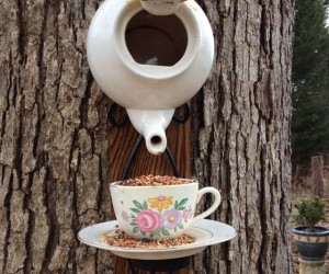 7 DIY Upcycled Bird Houses