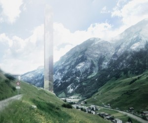 7132 Tower in the Swiss Alps to Become the Tallest Building in Europe If Approved